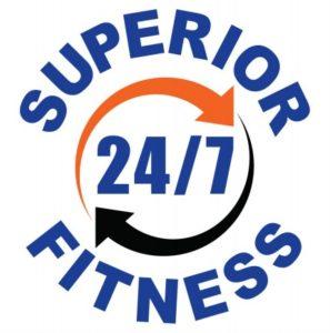 Superior 24/7 Fitness Logo